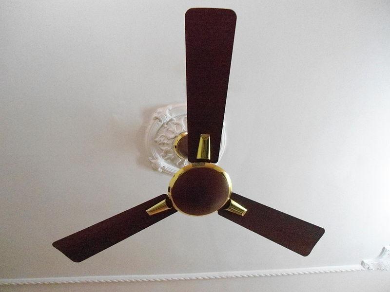 Prepare your ceiling fans