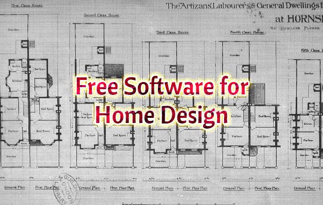 Free Softwares for Home Design