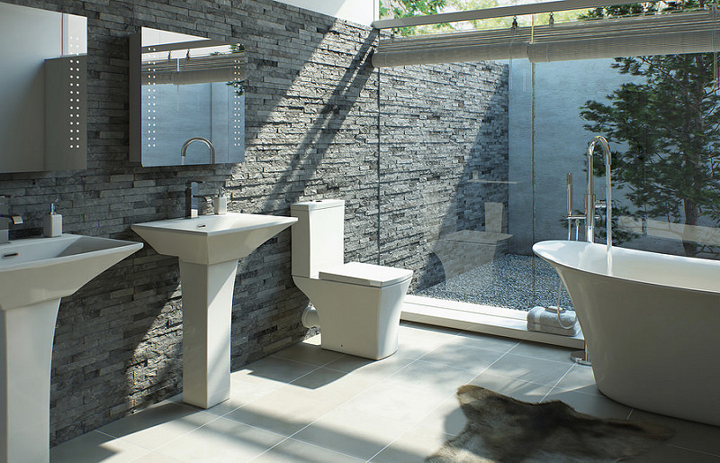 Photo of Tips for Decorating a Modern Bathroom
