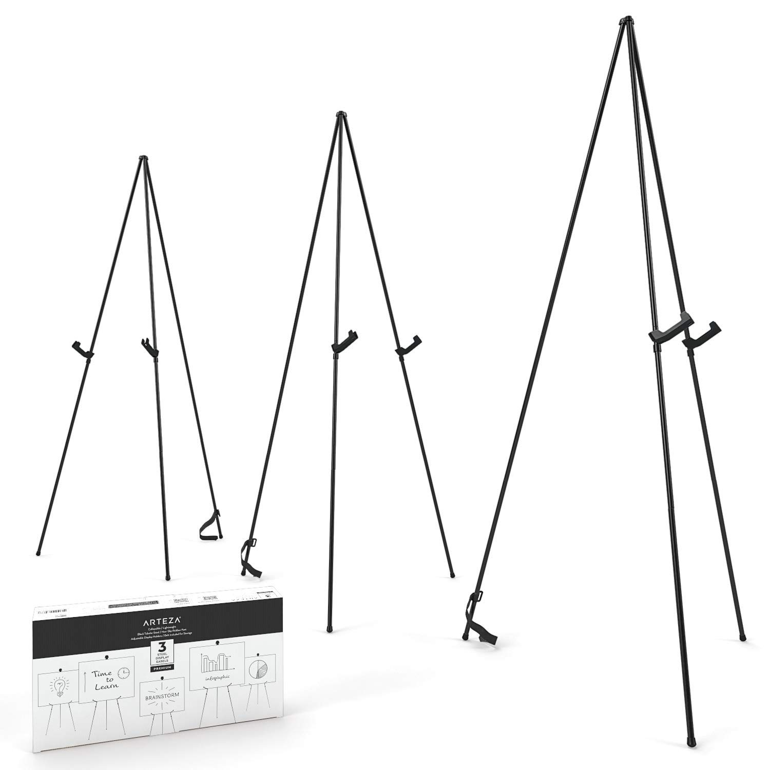 ARTEZA-Black-Steel-Display-Easel