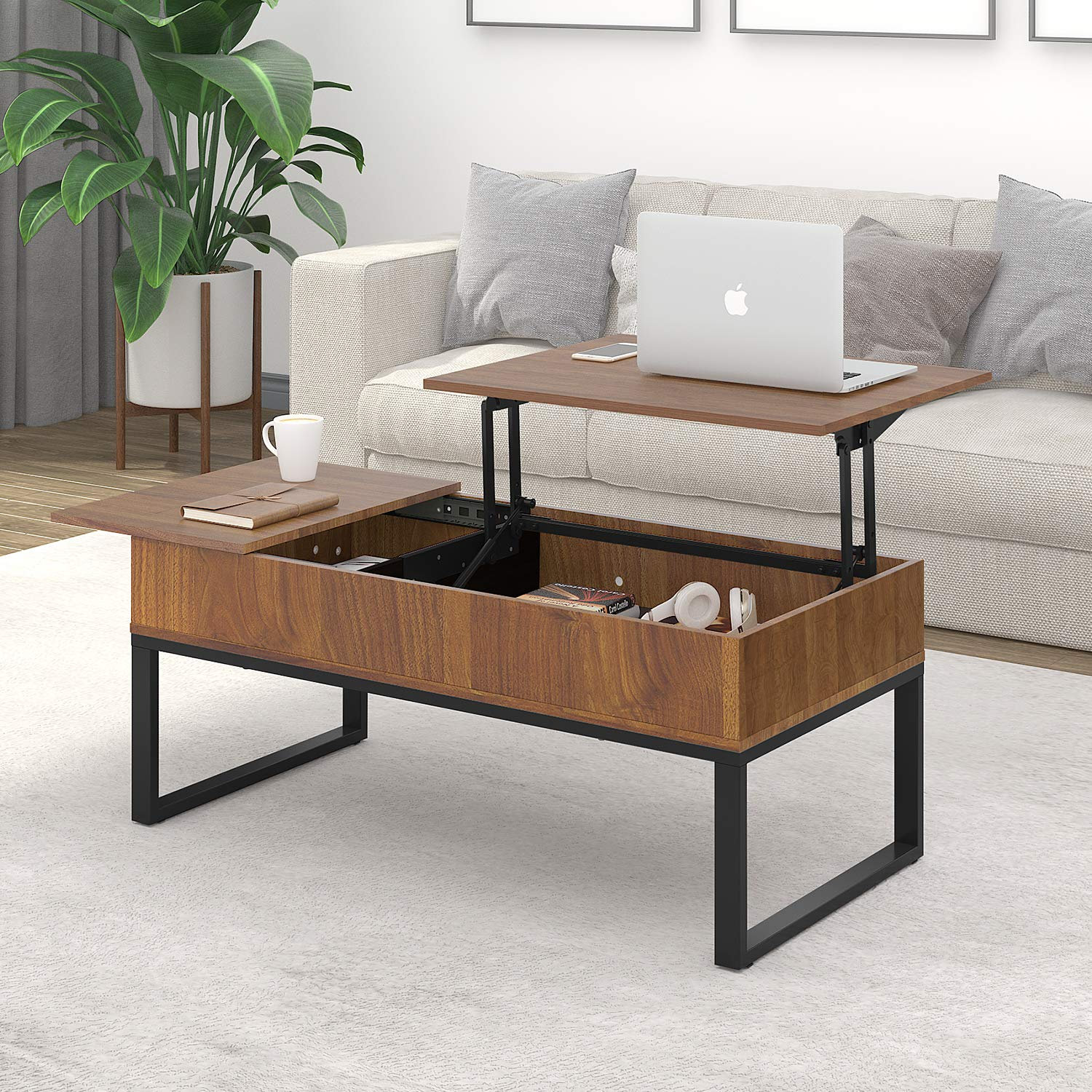 WLIVE Versatile Lift Top Coffee Table