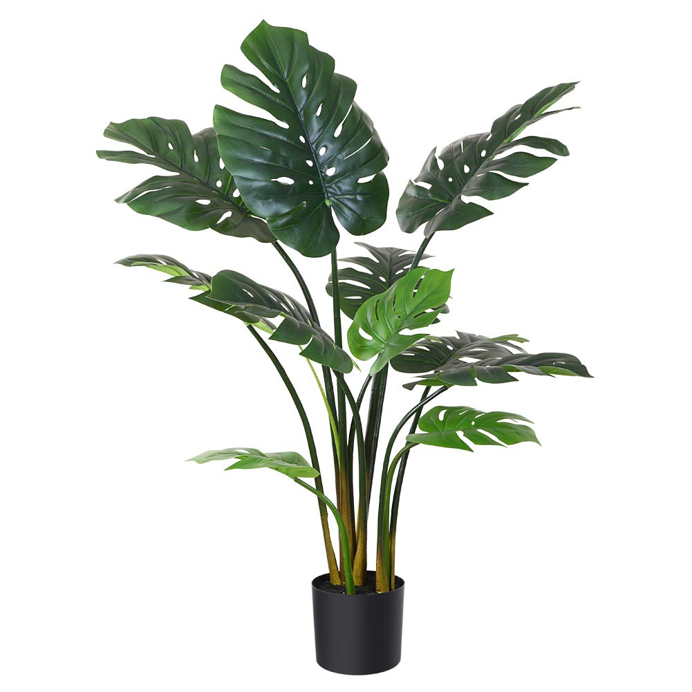 Fopamtri-Artificial-Monstera-Deliciosa-Plant-43--Fake-Tropical-Palm-Tree-Perfect-Faux-Swiss-Cheese-Plant-for-Home-Garden-Office-Store-Decoration-11-Leaves-1-