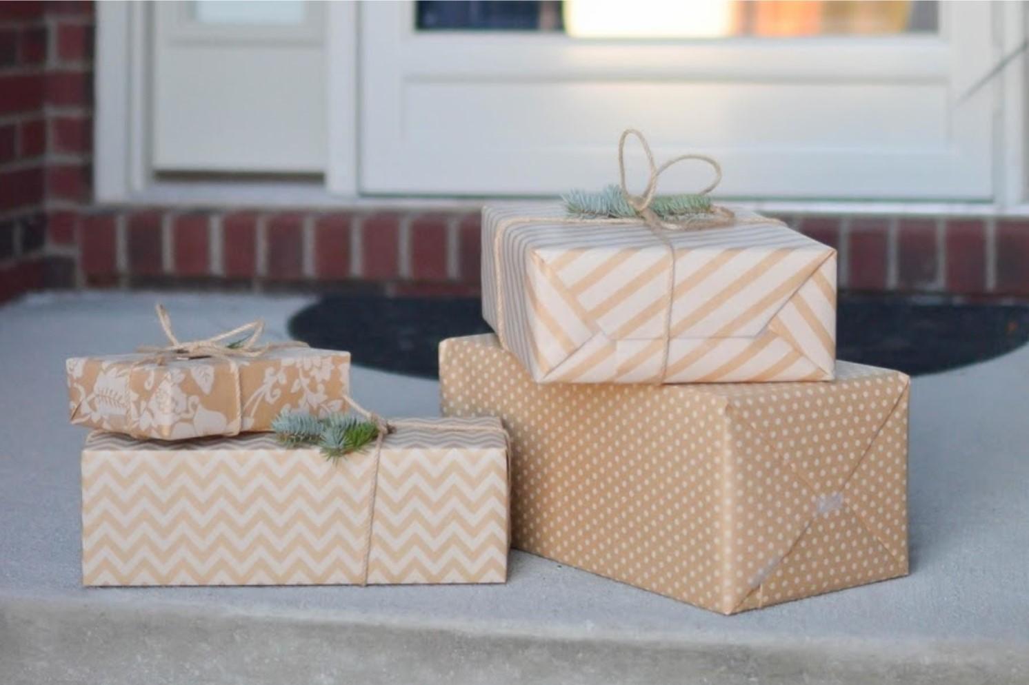 packages at door