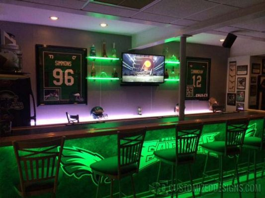 How to Build a Home Sports Bar